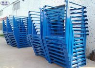 Commercial Car Tyre Storage Rack Heavy Duty Corrosion Protection Steel