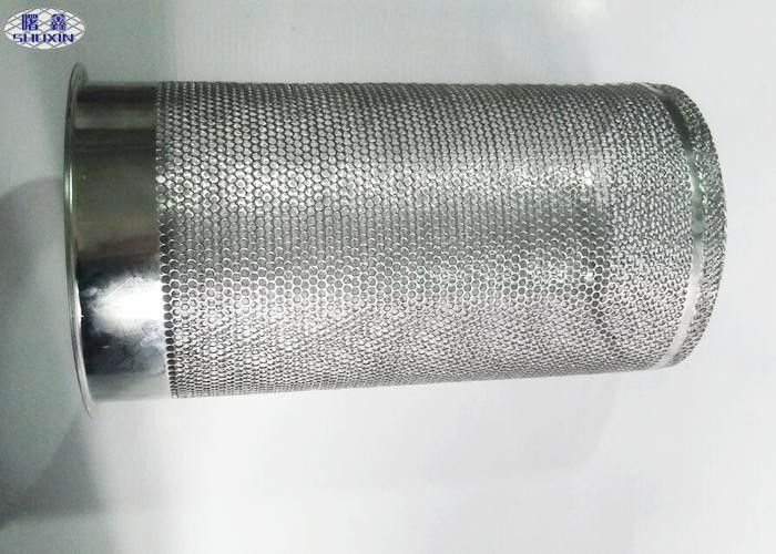 Perforated Metal Tube For Water Filter