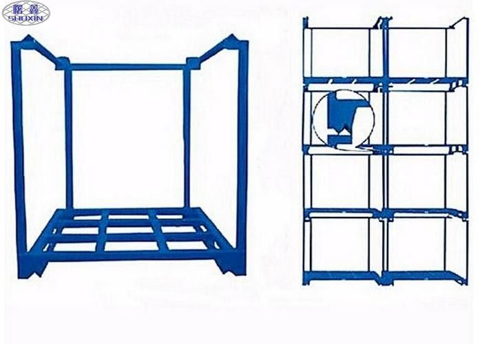 Durable Steel Stacking Storage Racks 4 Layer