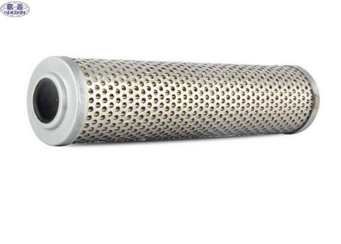 Stainless Steel Hydraulic Oil Filter , Replacement High Pressure Hydraulic Filter