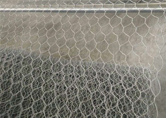 Galvanized + PVC Coated Gabions Woven Wire Mesh Box Retaining Walls for Tender Project