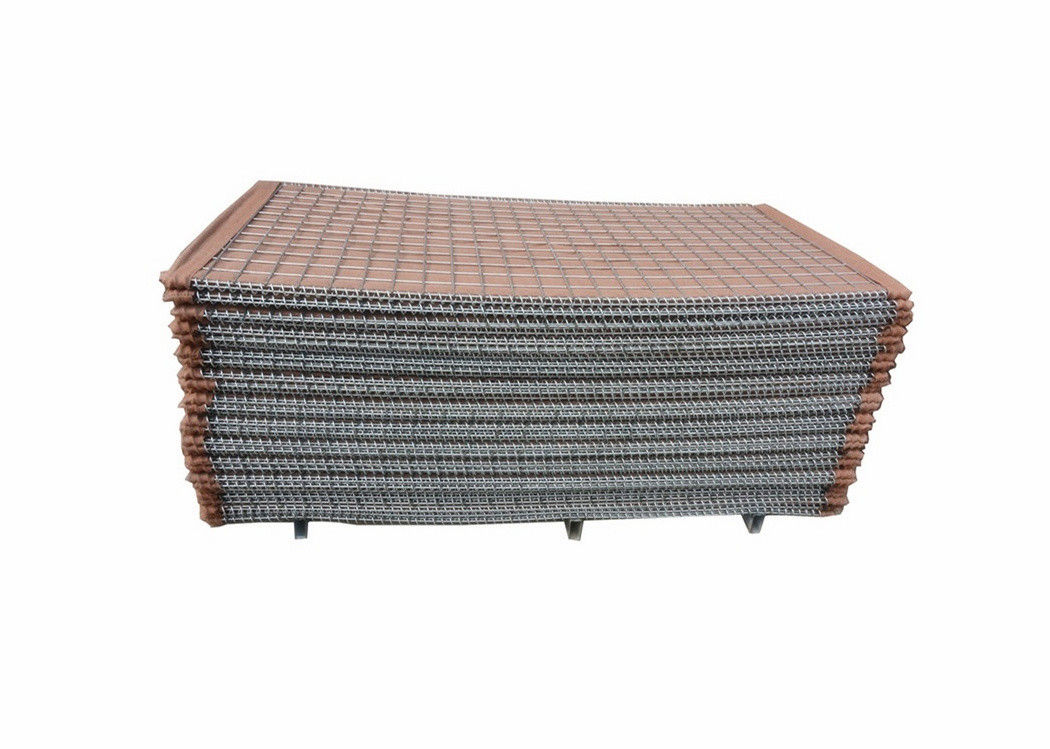 Mil 1 1.37*1.06*10m 3''*3'' Military Sand Wall Hesco Barrier For Bation Q235 Steel Wire Materials
